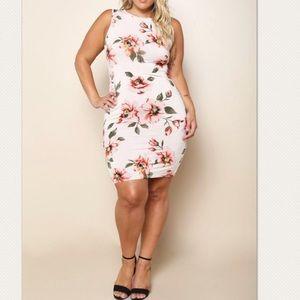 Dresses & Skirts - Plus Size Pretty Floral Dress